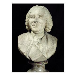 Byst av Rene Antoine Ferchault de Reaumur 1751 Vykort