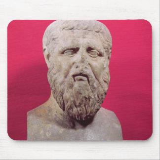 Bysten av Plato kopierar av ett 4th original för å Musmatta
