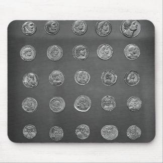 Byzantine och romerskt mynt, 04-10th århundrade musmatta