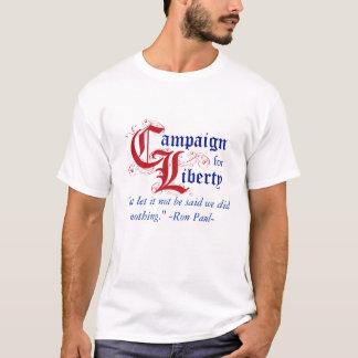 C4L med det Ron Paul citationstecknet Tee Shirt
