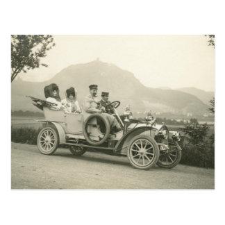 c 1907 som turnerar bilen eller phaetonen vykort