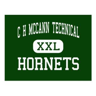 C-H McCann tekniska - bålgetingar - norr Adams Vykort