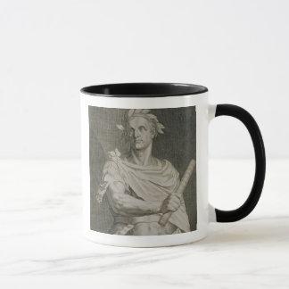 C. Julius Caesar (100-44 BC) kejsare av den Rome Mugg