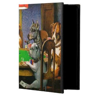 C.M. Coolidge hundar som leker poker Fodral För iPad Air