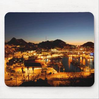 Cabo San Lucas Cityscape på solnedgången, Mexico Musmatta
