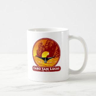 Cabo San Lucas solnedgång Kaffemugg