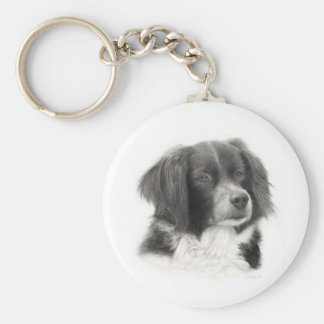 Cachorro - diversos rund nyckelring
