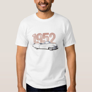 Cadillac 1952 Coupe De Ville, vitcabriolet Tee Shirt