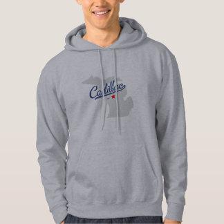 Cadillac Michigan MI skjorta Tröja Med Luva