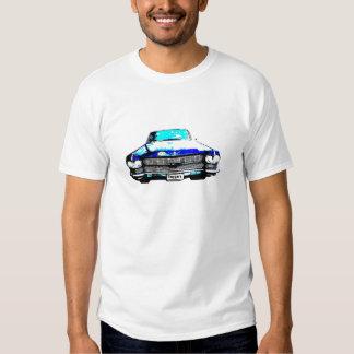 cadillac raggarebil tee shirt