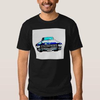 cadillac raggarebil tee shirts