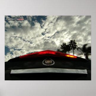 Cadillac Sky. Print