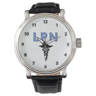 Caduceus för sjuksköterskor LPN Armbandsur
