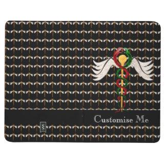 Caduceusen (full färg) anteckningsbok
