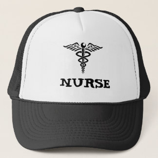 Caduceussjuksköterskahatt Keps