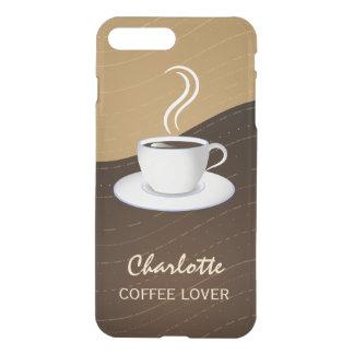 Cafeälskare kyler kaffe och lagar mat med grädde iPhone 7 plus skal