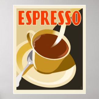 CafeDeco espresso Poster