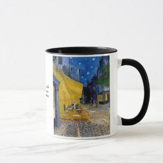 Cafeterrass av Vincent Van Gogh Mugg