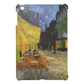 Cafeterrass på kortkortet för nattVincent Van Gogh iPad Mini Mobil Fodral