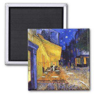 Cafeterrass på natten av Vincent Van Gogh Magnet