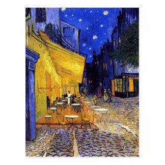 Cafeterrass på natten av Vincent Van Gogh Vykort