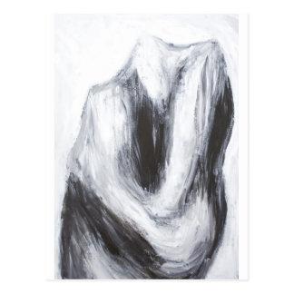 Cain och Abel 2 (abstrakt surrealism) Vykort