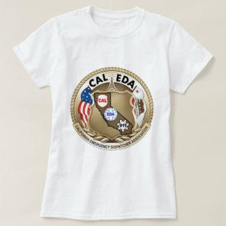 CAL--EDAlogotypkvinna skjorta för T T Shirt