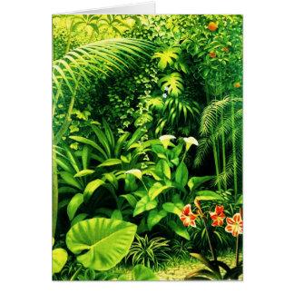 Cala trädgård hälsningskort