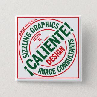 ¡ Caliente! Designen kvadrerar knäppas Standard Kanpp Fyrkantig 5.1 Cm