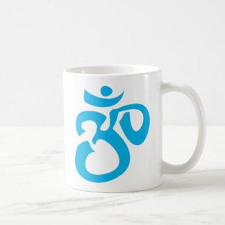 Calligraphic Om-symbol för buddist & för New Kaffemugg