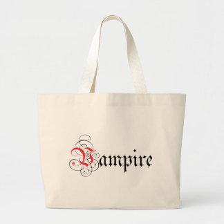 Calligraphic vampyr jumbo tygkasse