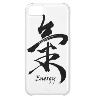 Calligraphy för asiat för för KanjisymbolENERGI iPhone 5C Fodral