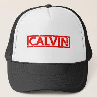 Calvin frimärke keps