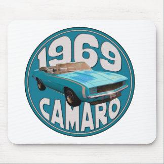 Camaro 1969 SS tänder - den bästa blåtttrasan Musmatta