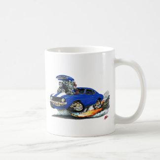 Camaro Z28 blåvit bil 1969 Kaffemugg