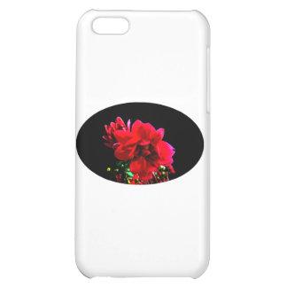 Camelliasvart de MUSEUMZazzle gåvorna iPhone 5C Mobil Skal
