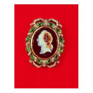 Cameo av Louis XV från ett ha på sig armband Vykort