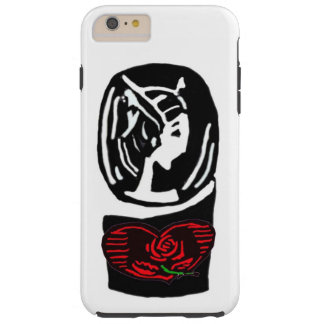 Cameo och hjärta tough iPhone 6 plus fodral
