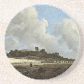 Camille Corot målning Underlägg Sandsten