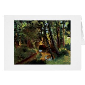 Camille Pissarro att måla som är litet, Hälsningskort