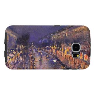 Camille Pissarro boulevarden Montmartre på natten Galaxy S5 Fodral