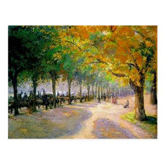 Camille Pissarro- Hyde park, London Vykort