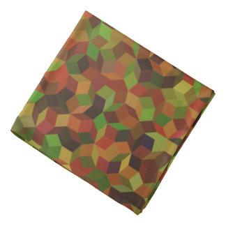 Camo färg Penrose som belägger med tegel bandanaen Bandanna