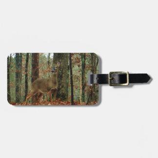 Camo kamouflagehjort bagagebricka