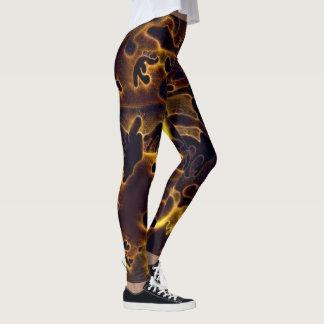 Camoflauge glödar leggings