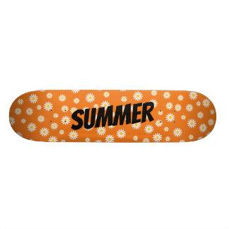 Camomileblommor Skateboard Bräda 19,5 Cm