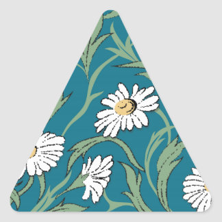 Camomiles Triangelformat Klistermärke