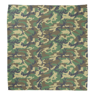 Camouflag skogsmark scarf