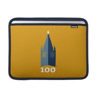 Campanile på guld MacBook air sleeves