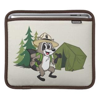 Campout för amerikan för skogsvaktarestack | sleeve för iPads